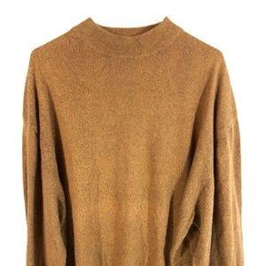 Tom James Longsleeve Sweater Pullover Brown XXL 56